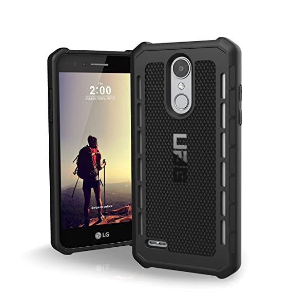 UAG LG Tribute Dynasty/Aristo 2/Fortune 2 Outback Feather-Light Rugged  [Black] Military Drop Test Phone Case
