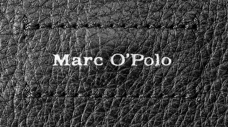 Marc O'Polo dam Indra axelväska, 10 x 20 x 28 cm Svart (Black)