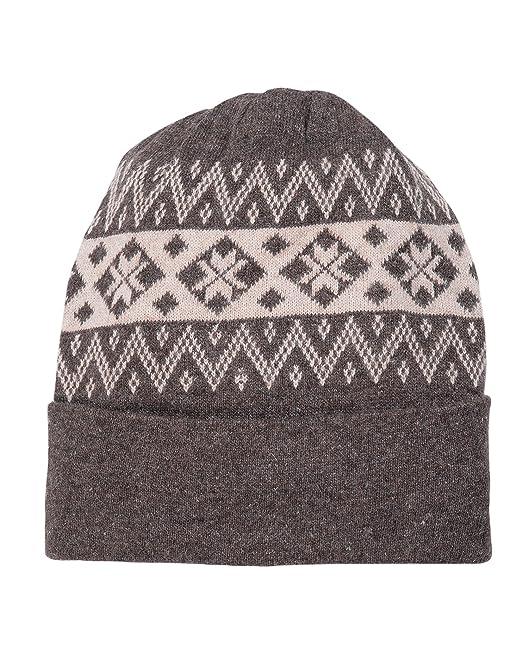 2401506c615 Devil Men s Wool Self Design Winter Cap (Grey