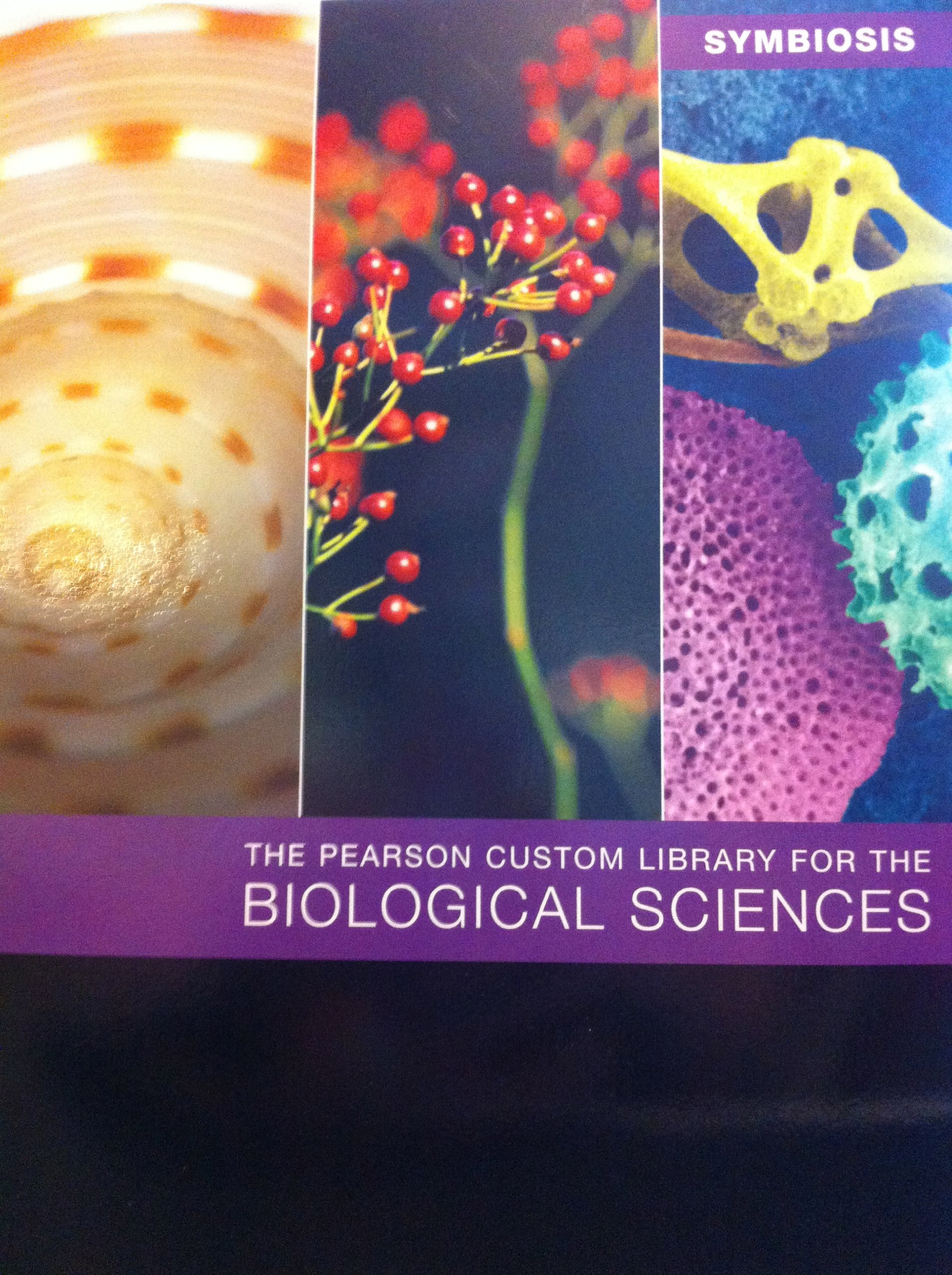 The Pearson Custom Library for the Biological Sciences: 9781256174929:  Amazon.com: Books
