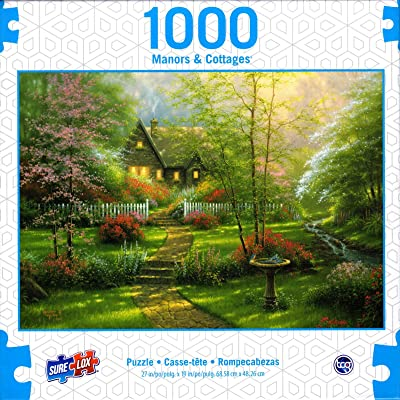 Dogwood Cottage by Abraham Hunter 1000 Piece Puzzle: Toys & Games