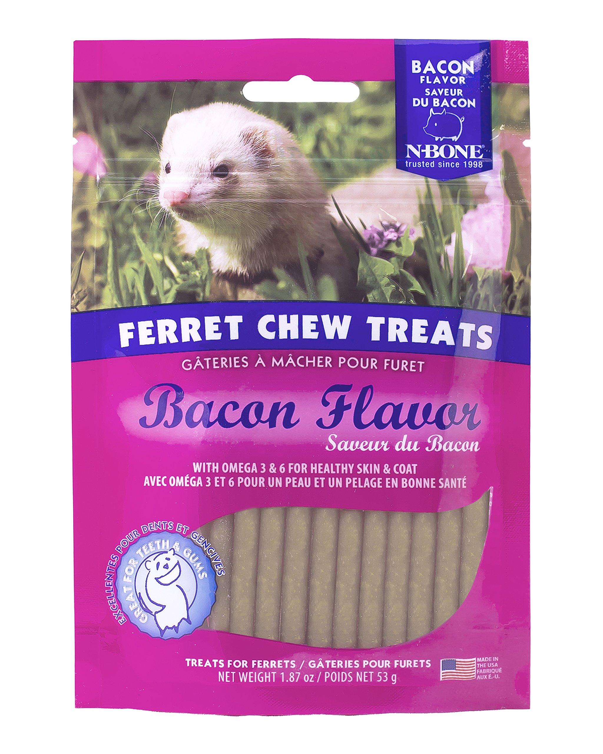 N-Bone 1.87 Oz. Ferret Bacon Flavor Chew Treats