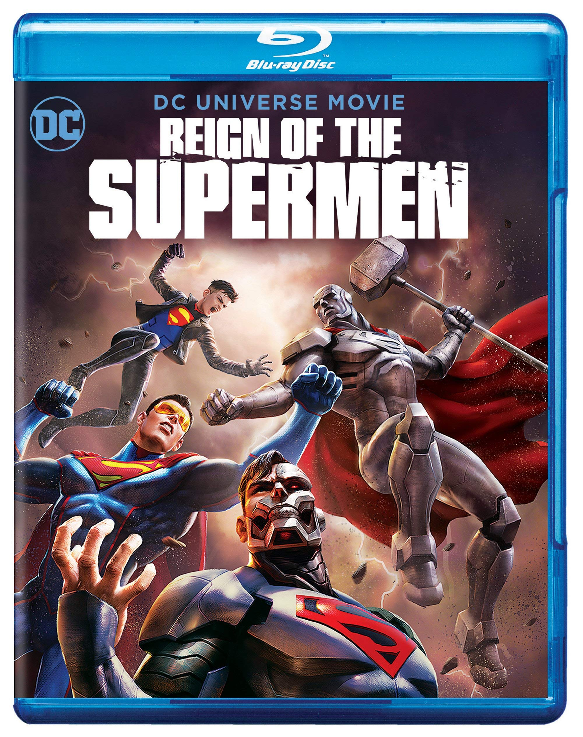 Blu-ray : Reign Of The Supermen (With DVD, Blue, 2 Pack, Digital Copy, Dolby)