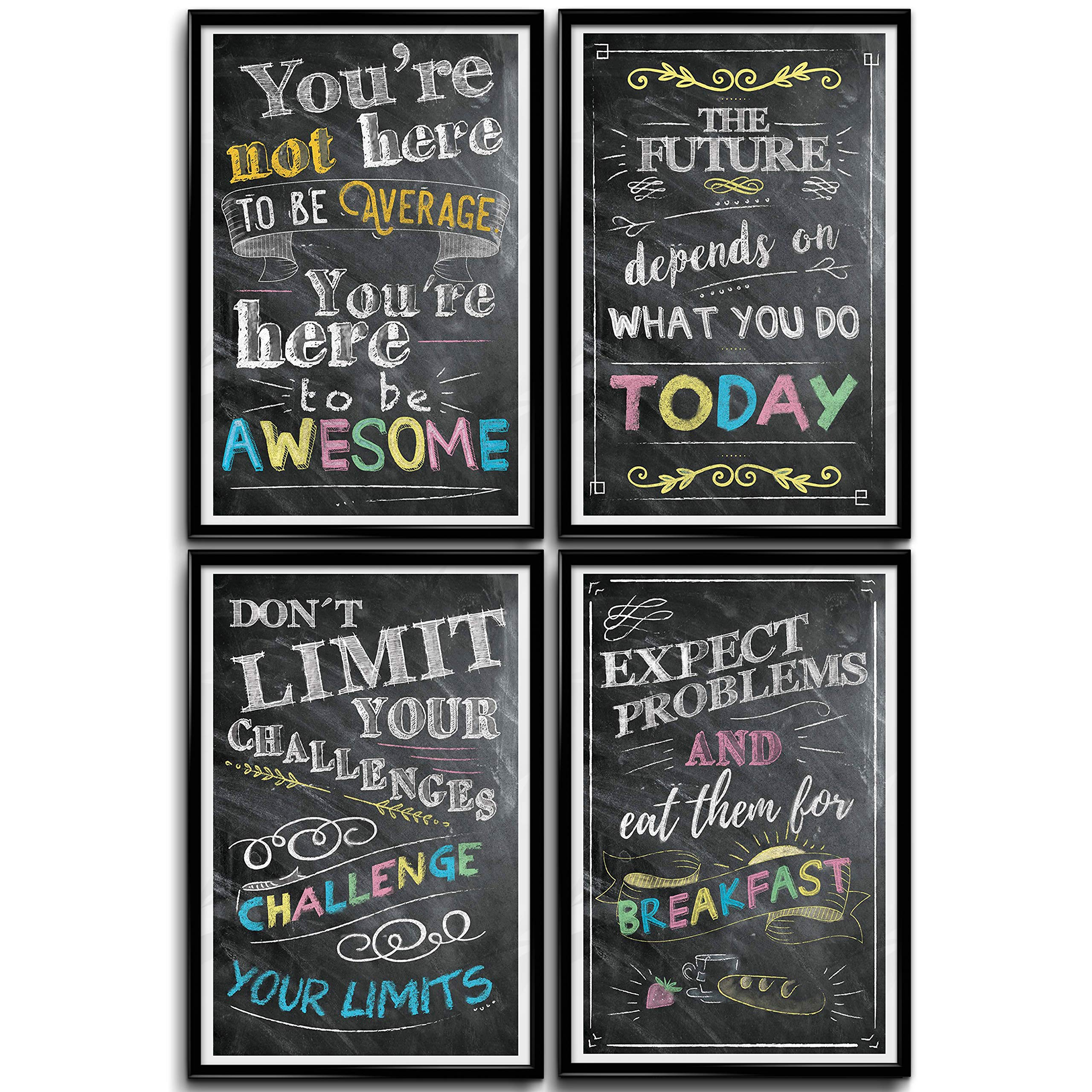 Motivational inspirational quote positive life poster picture print wall art 284