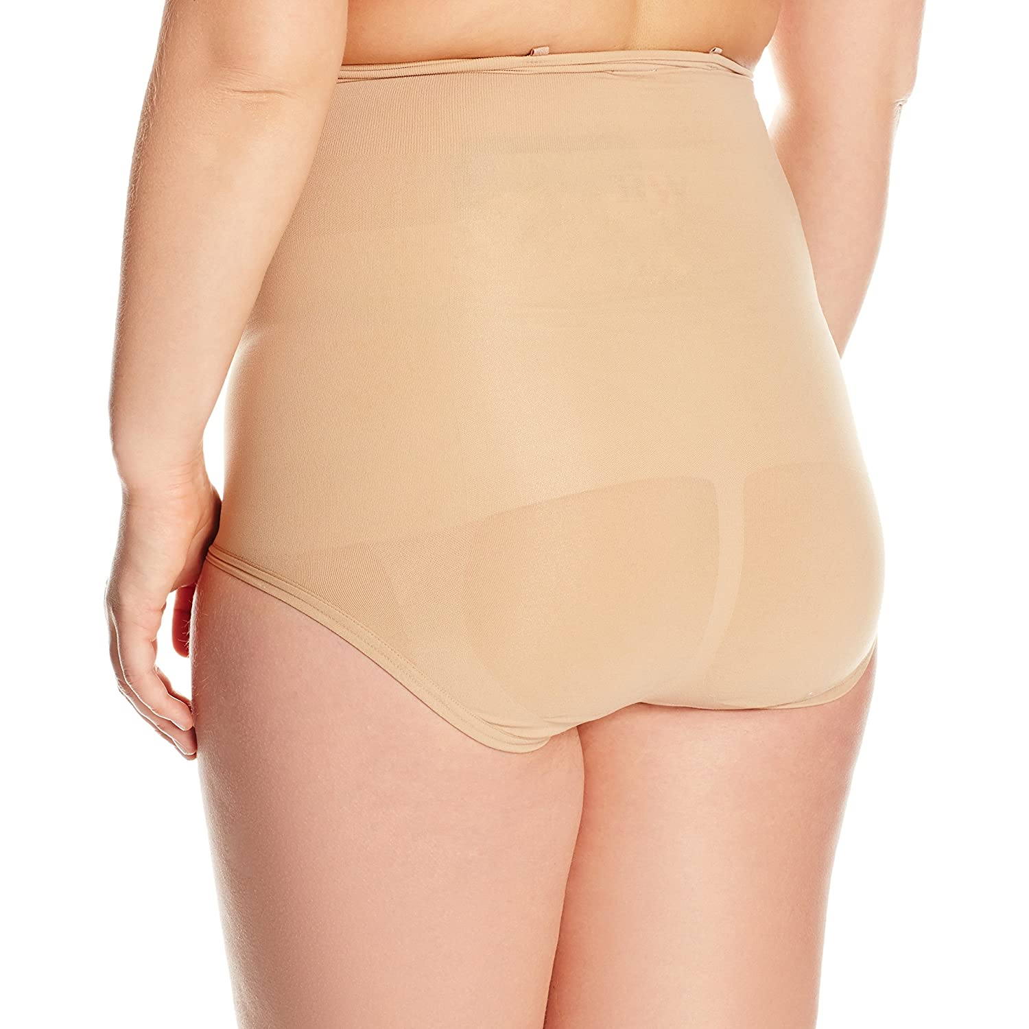 Body Wrap Womens Plus Size Full Figure The Superior Derriere High-Waist Panty