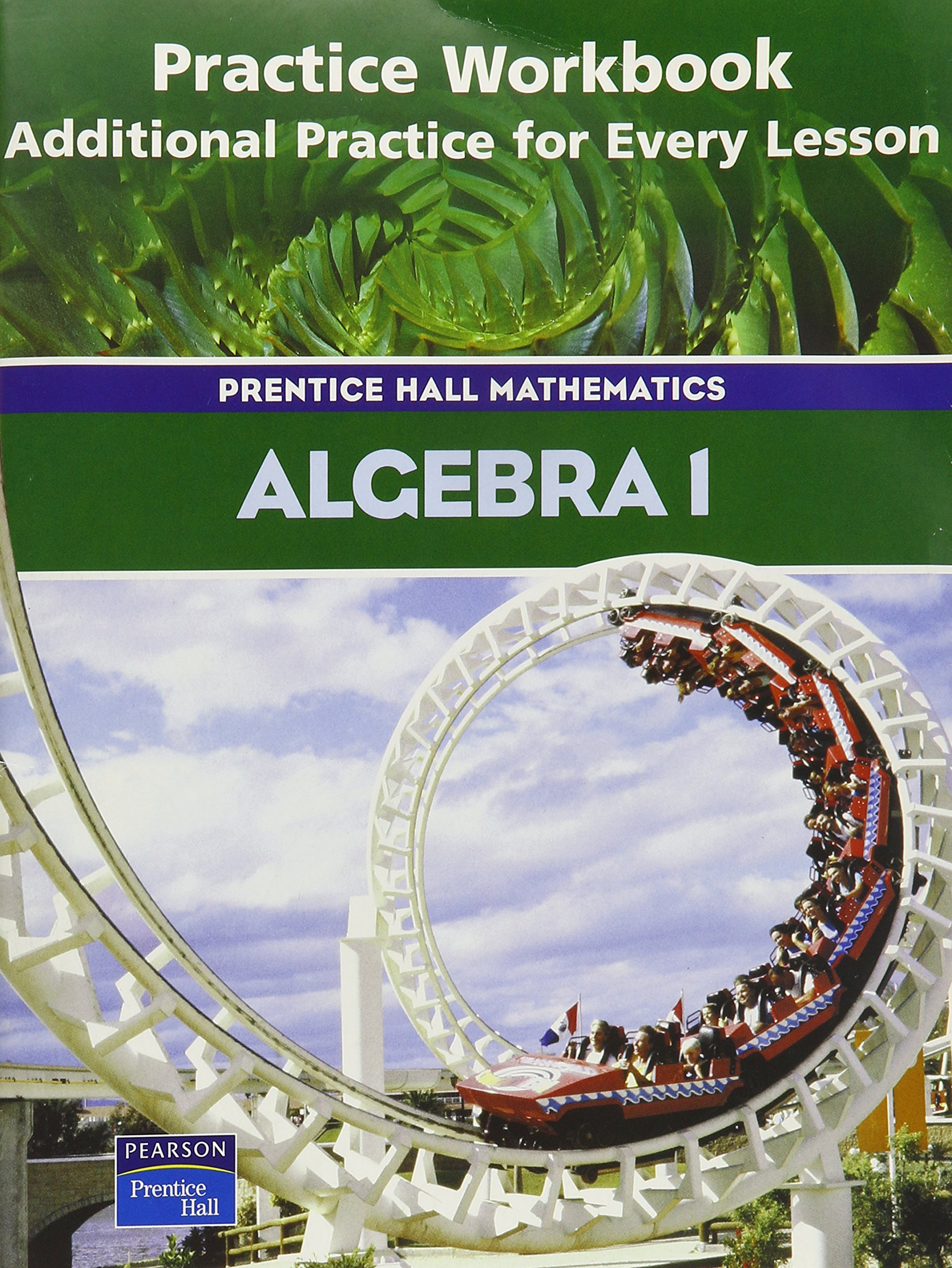 Amazon Algebra 1 Practice Workbook Additional Practice for – Pearson Prentice Hall Math Worksheet Answers