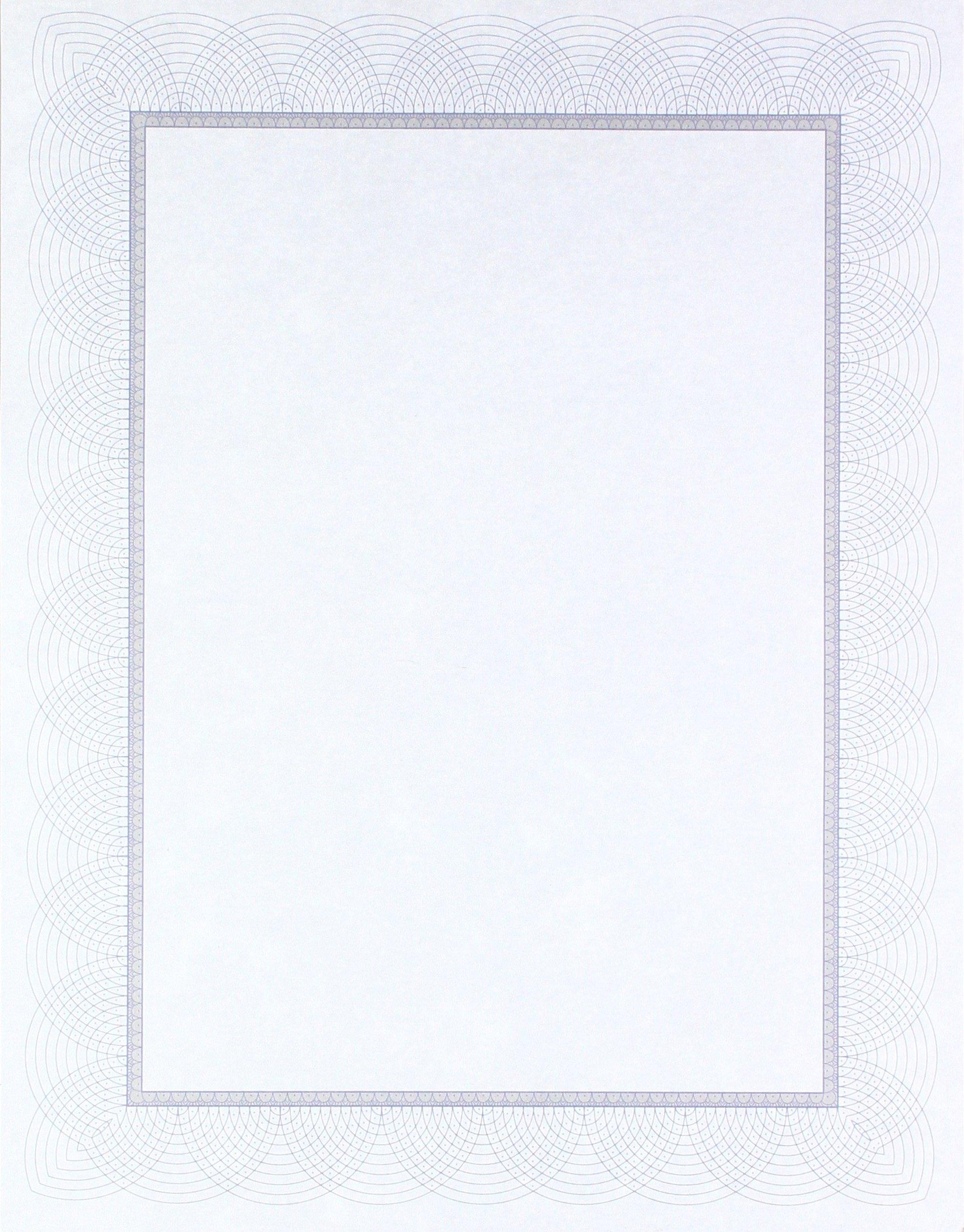 St. James Regent Bond Certificates, Blue & Silver, 100 Pack (83500)