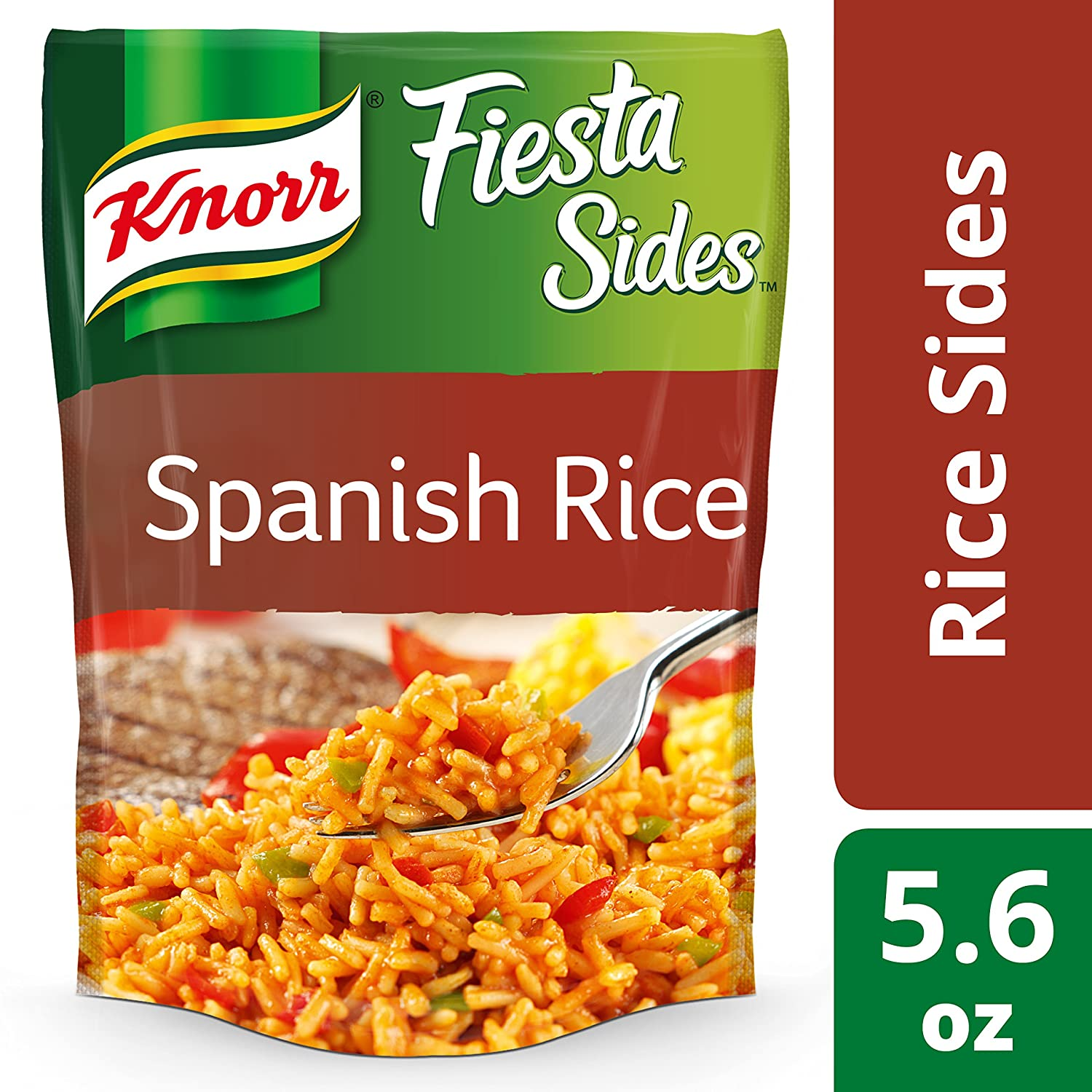 Amazon.com : Knorr Fiesta Sides Rice Side Dish, Spanish Rice 5.6 ...