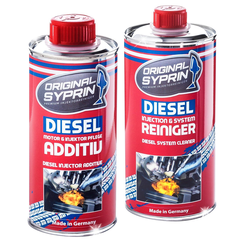 SYPRIN Original Diesel Additiv Diesel Reiniger Injektor-Reiniger Einspritzdü sen-Reiniger Diesel-Reinigung Diesel-Additive Paket Bundle