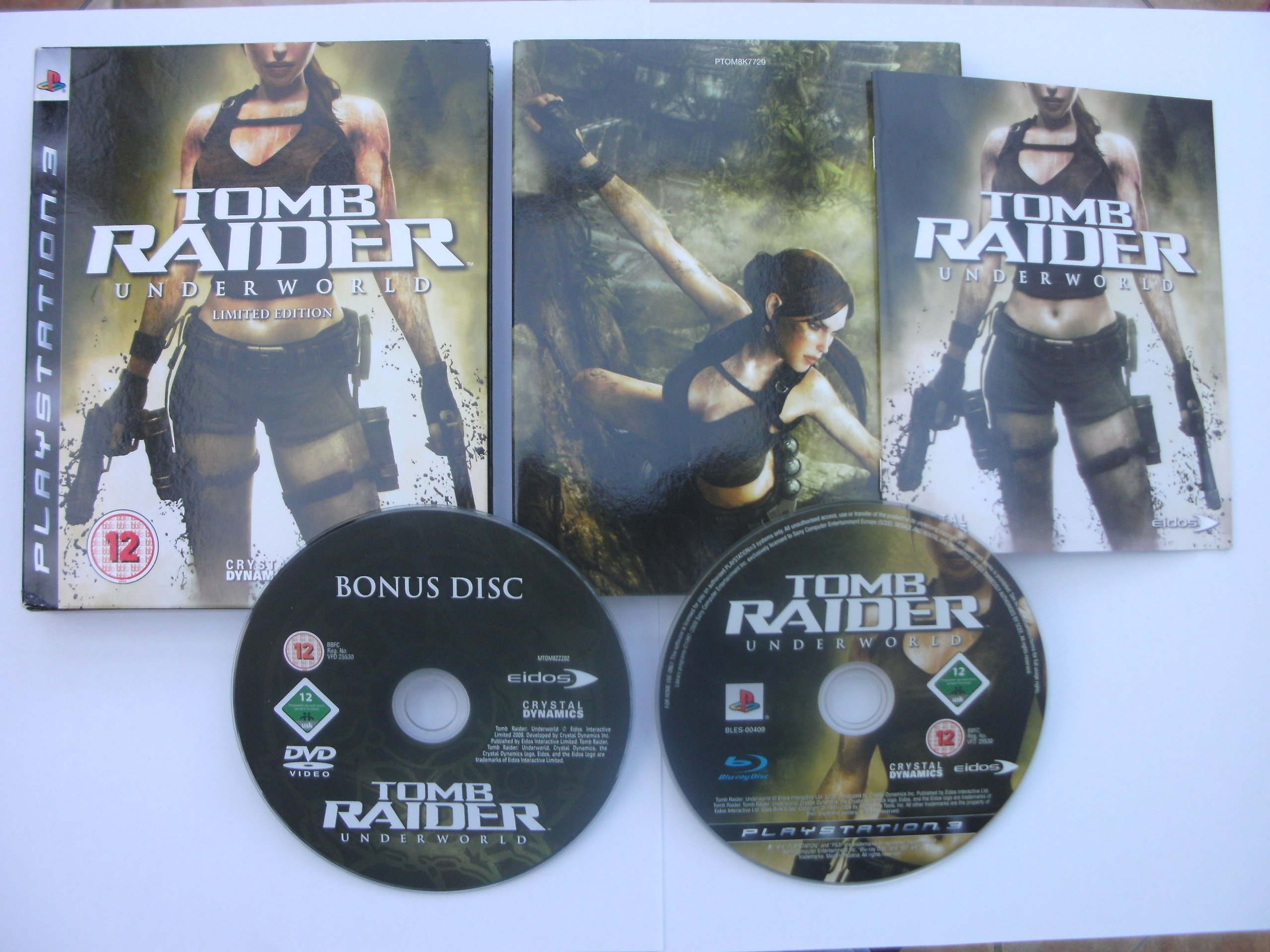Amazon com: Tomb Raider Underworld Limited Edition PS3: Video Games