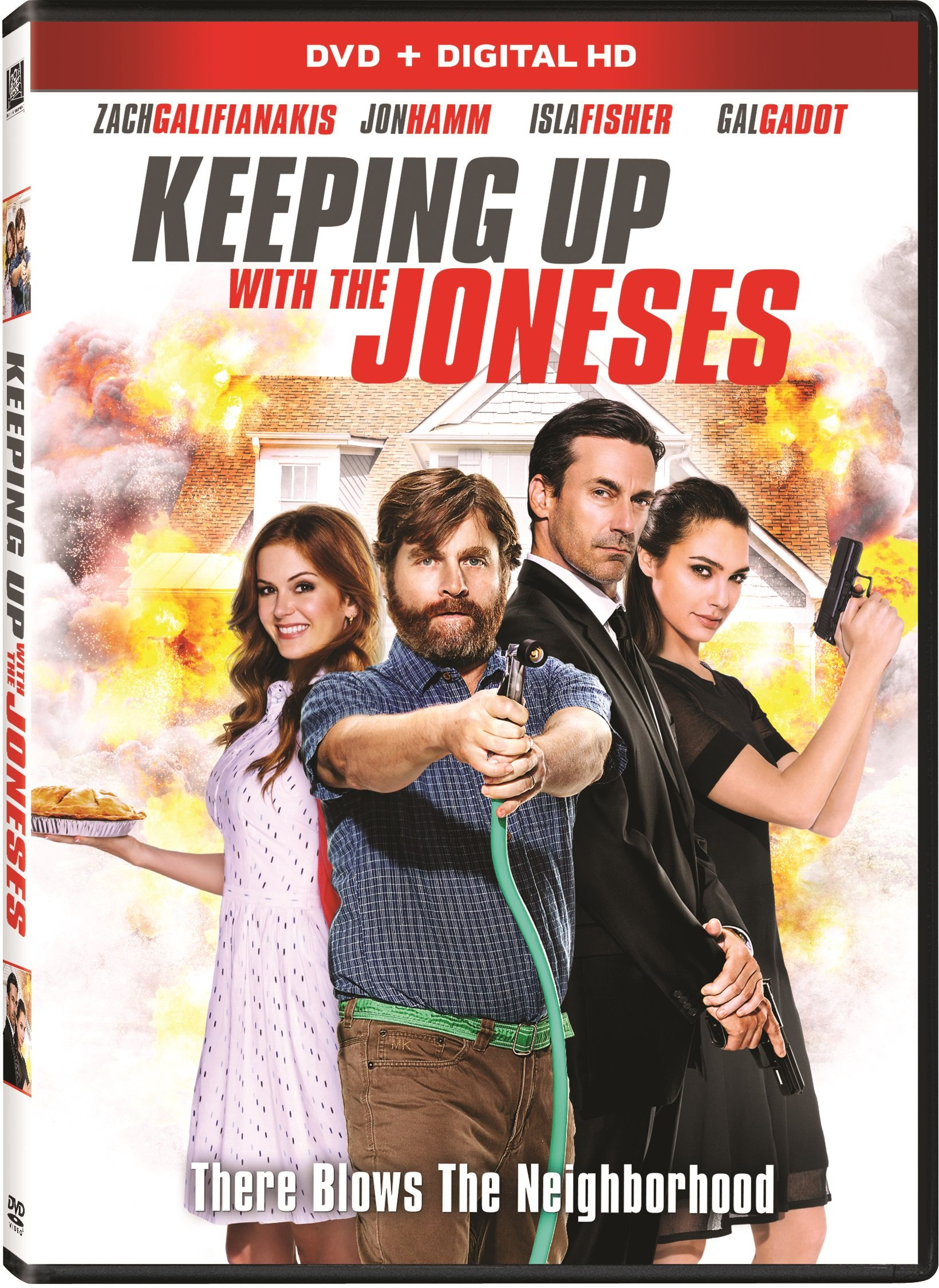 DVD : Keeping Up With the Joneses (Dolby, AC-3, , Dubbed, Widescreen)