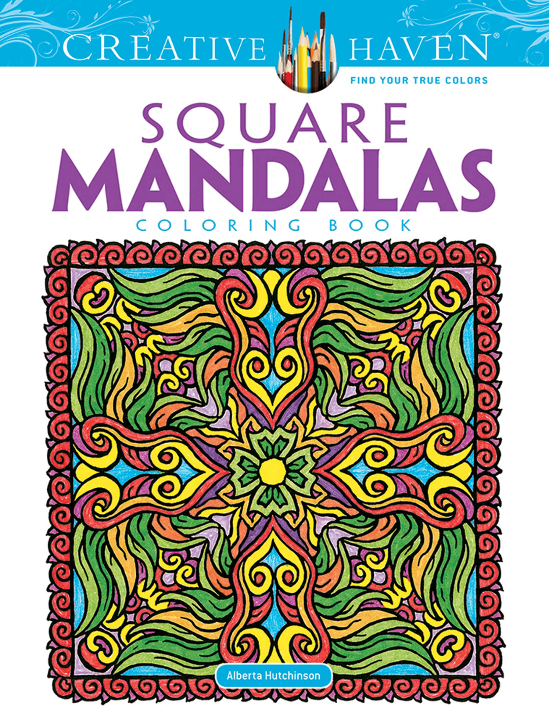 Creative Haven Square Mandalas Coloring Book (Creative Haven Coloring Books):  Alberta Hutchinson, Creative Haven: 9780486490946: Amazon.com: Books