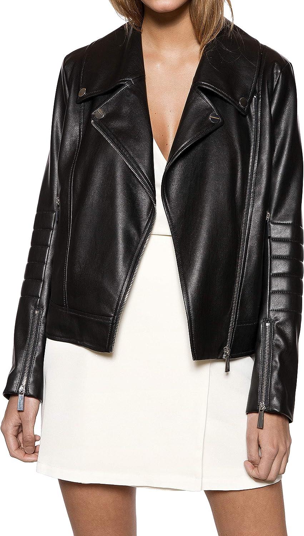 IVYREVEL Panelled PU Jacket Chaqueta para Mujer