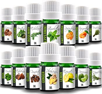 14-Piece Aroma2Go Cooking Set of 14 Natural Pure Plant-Based Essential Oils