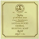 Taylor of Old Bond Street 100g Sandalwood Herbal Shaving Soap Refill