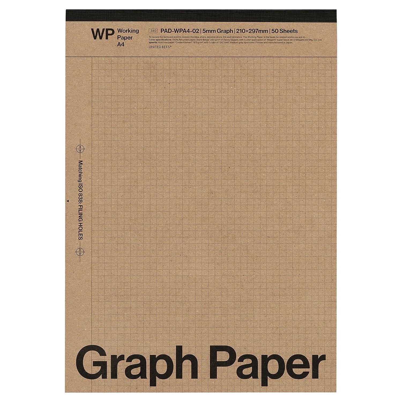 amazon a4 レポートパッド graph paper 方眼 ワーキングペーパー pad