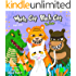 "Children's books: ""WHITE CAT BLACK CAT - 3 "" (ANIMALS STORY BEDTIME BOOKS FOR KIDS )"