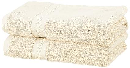 Pinzon - Juego de toallas de algodón Pima (2 toallas de baño + 2 toallas