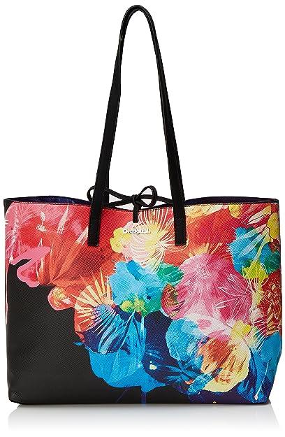 Bols_blue Palms Capri Womens Shoulder Bag Turquoise (Turquesa) 28x13x30 cm (B x H x T) Desigual jg97vef