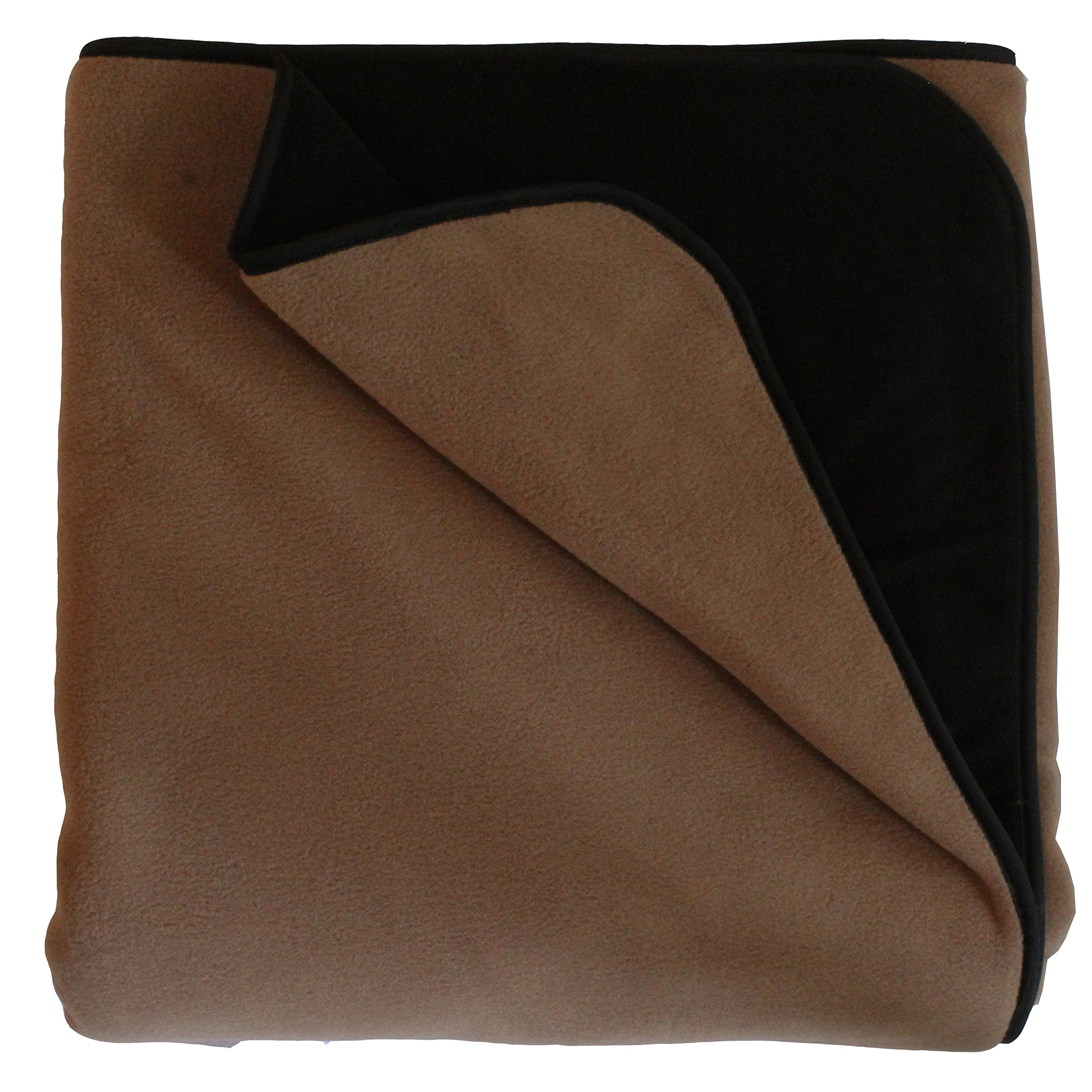 Mambe 100% Waterproof Pet Blanket (Large 58''x84'', Cappuccino)