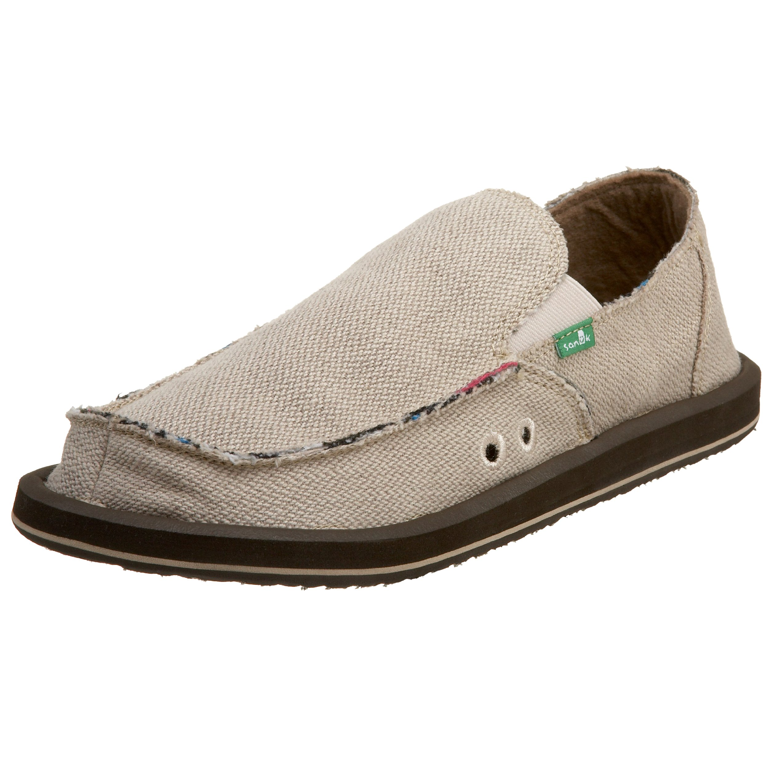 Sanuk Men's Hemp Slip-On,Natural,11 M by Sanuk
