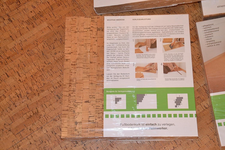 Fußboden Dämmen Kork ~ Neu kork 30x30x4 korkboden wandkork bastelkork korkplatten