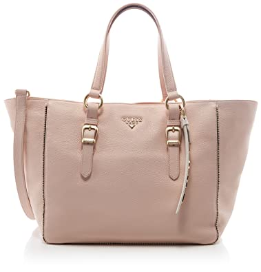 Damen Bags Hobo Schultertasche, Pink (Rose), 17.5x31x35 centimeters Guess