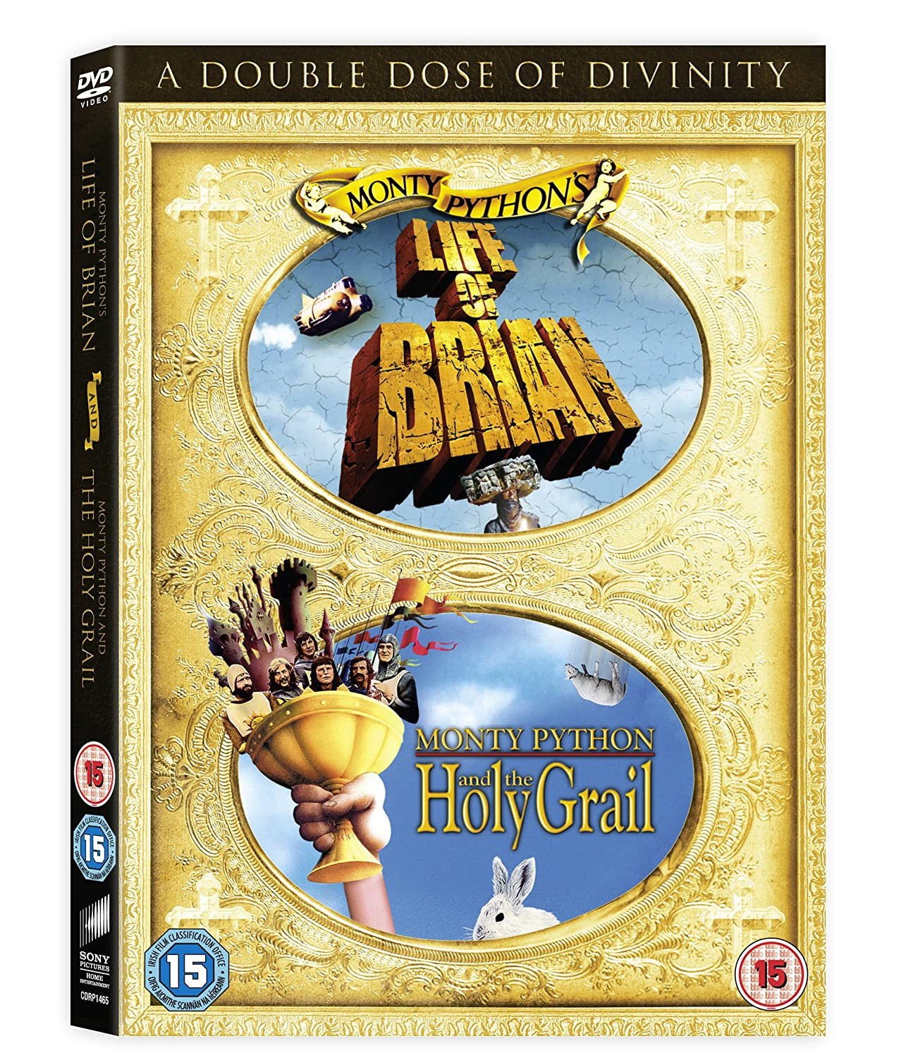 The Life of Brian / Monty Python and the Holy Grail Double Pack ...