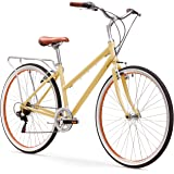 sixthreezero Explore Your Range Women's 7-Speed Hybrid Commuter Bicycle, 17""