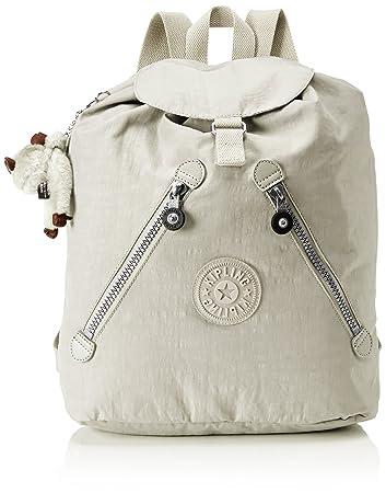 Kipling Women Fundamental Casual Daypack, Grey (Rainy Day), 42 cm