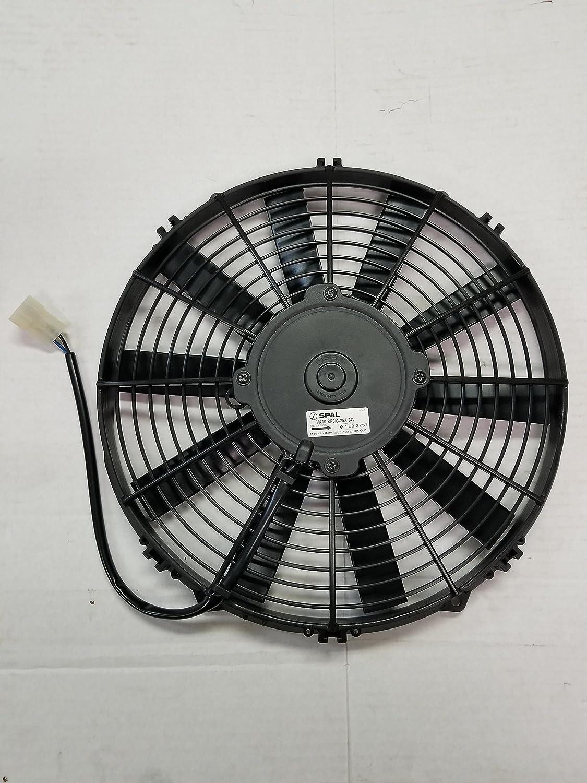 Spal Va10 Bp9 C 25a 24v 12 Cooling Fan Puller 30100350 Flexalite Electric Black Magic Series Coximportcom A Automotive