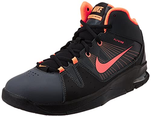 lowest price c587d f4ad9 Nike Men s Air Flight Jab Step Black, Total Orange, Anthracite Leather Basketball  Shoes -9 UK India (44 EU)(10 US)  Buy Online at Low Prices in India ...