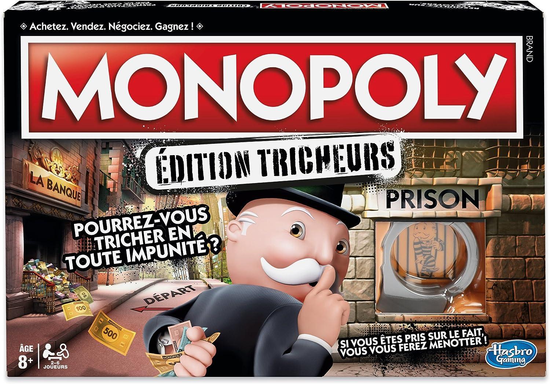 Monopoly Hasbro Gaming Tricheurs – Juego de Tablero – e1871: Amazon.es: Juguetes y juegos