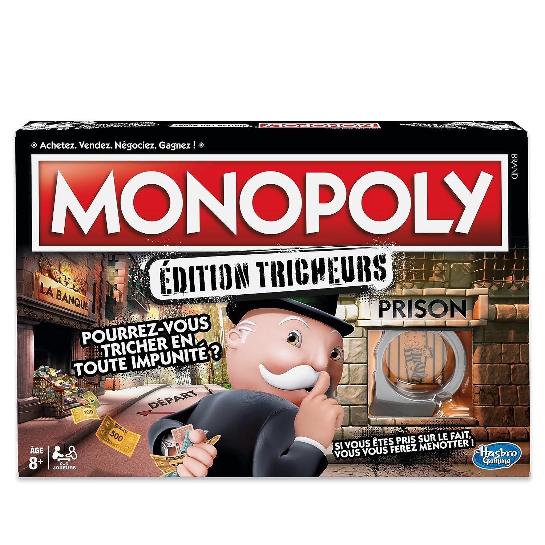 Monopoly Hasbro Tricheurs Gaming Tricheurs Hasbro Ndash Juego De