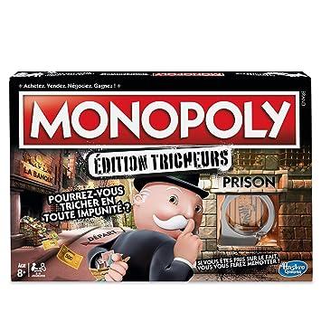 monopoly jeu de societe monopoly tricheurs jeu de plateau version francaise - date de sortie monopoly fortnite
