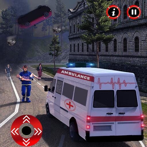 Hurricane Rescue Simulator 2018 - Ambulance Rescue
