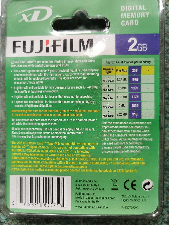 kenable FujiFilm xD Tipo m 2GB 2 Gig GB xD Picture Memoria ...