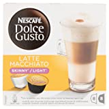 Nescafe Dolce Gusto Skinny Latte Macchiato Coffee Pods 8 Drinks - Pack of 3 (Total 48 Capsules, 24 Servings)
