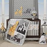 Lambs & Ivy Me & Mama White/Gray Elephant Nursery