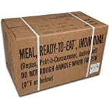 ULTIMATE MRE, May 2017 and up Inspection Date Meals Ready-to-Eat, Case of 12 Genuine US Military Surplus with Western Frontier's Inspection and Guarantee.