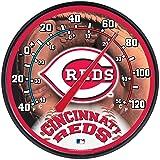 "MLB Cincinnati Reds Thermometer, 12"" x"