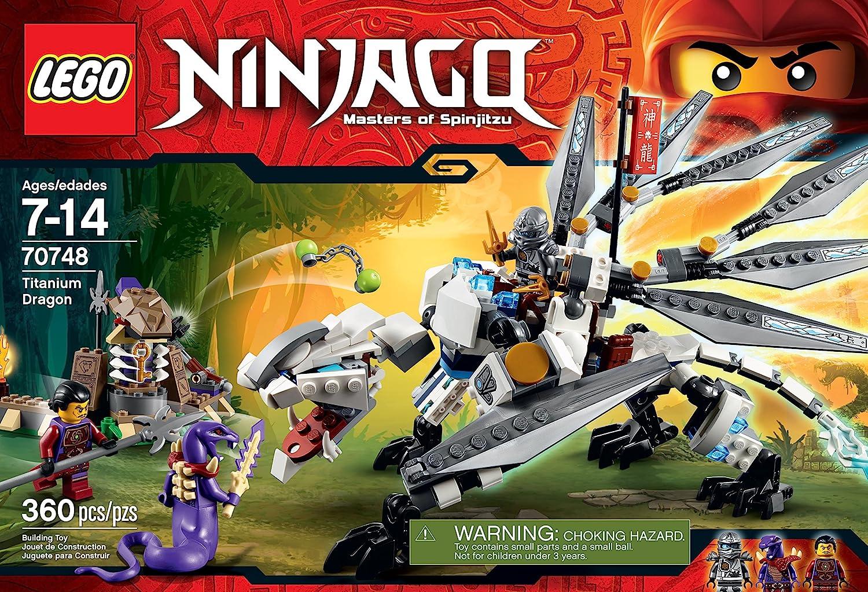 Amazon.com: Ninjago dragón de titanio de juguete, de ...