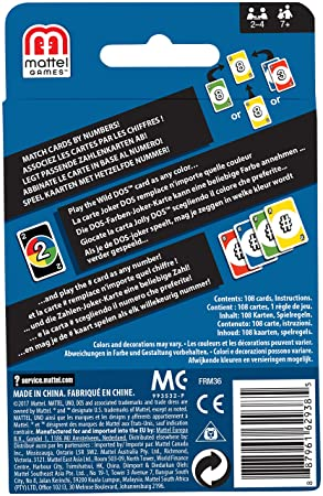 Buy Uno Dos Card Game Online At Low Prices In India Amazon