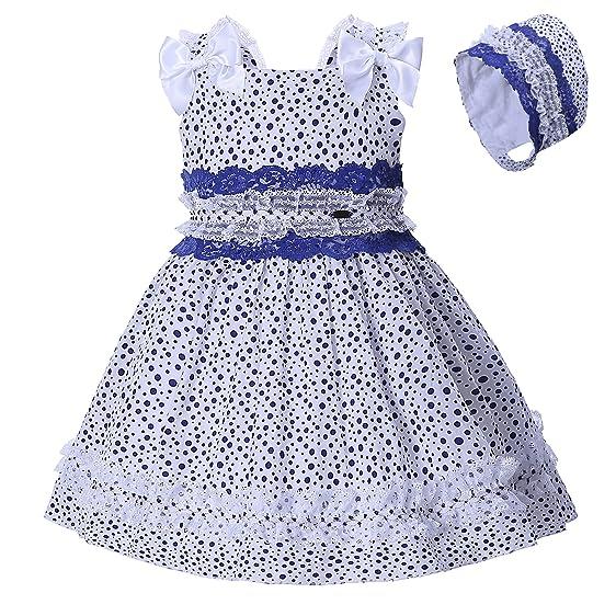 Kleid gepunktet madchen