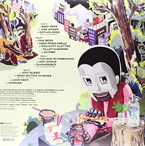 MF DOOM - MM..Food? [Vinyl] - Amazon.com Music