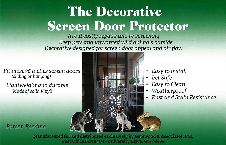 The Decorative Screen Door Protector Amazon