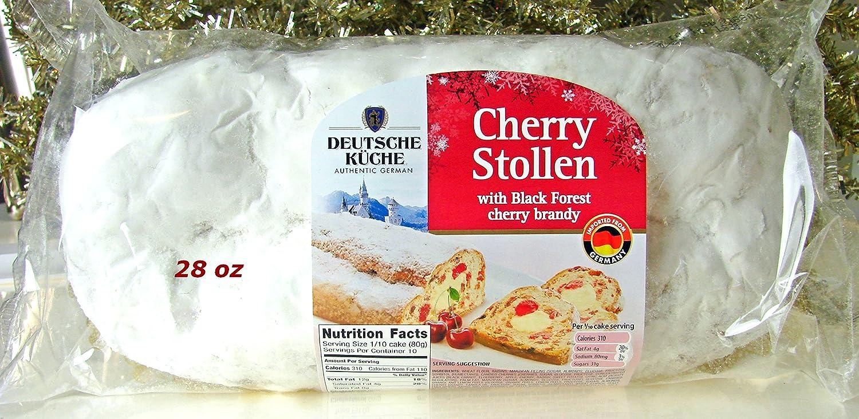 Deutsche Kuche Cherry Stollen With Marzipan Black Forest Cherry