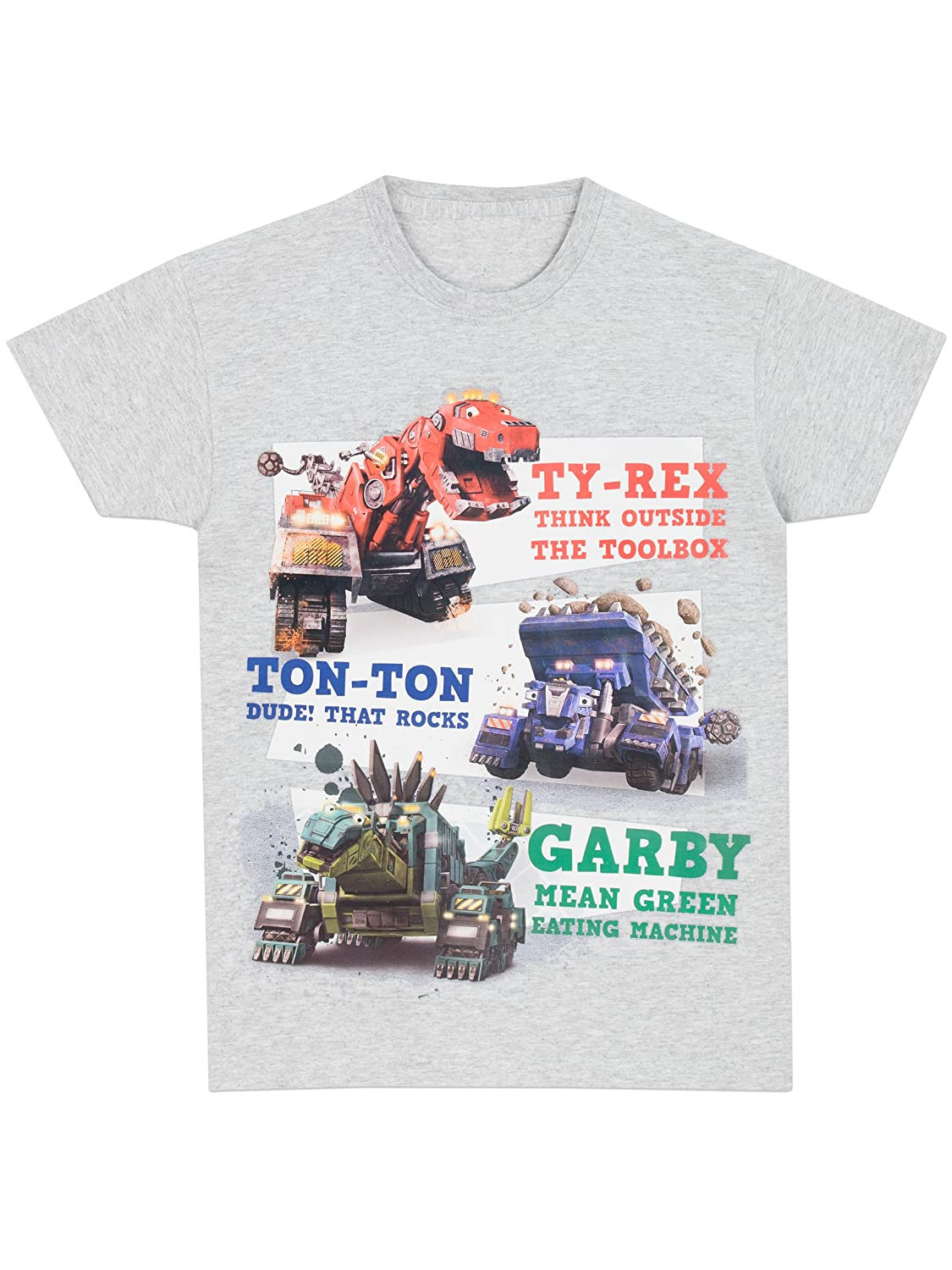 DinoTrux Boys T-Shirt Ages 3 To 12 Years