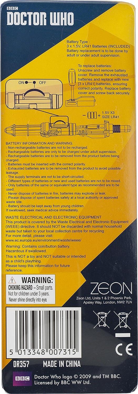 Doctor Who - Llavero con linterna led de destornillador sónico ...