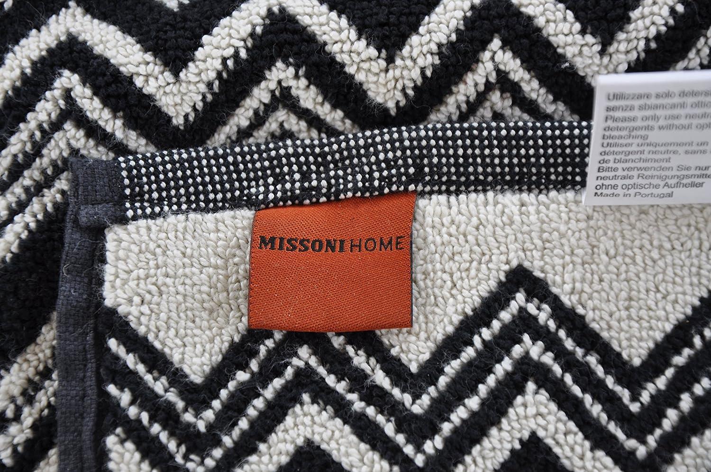 Missoni Home Toalla Towel Telo Mare servilleta toalla 75 x 160 cm - Naranja Label 16696: Amazon.es: Hogar